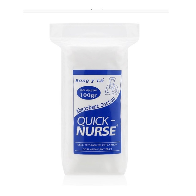 Bông gòn Quick Nurse 100g