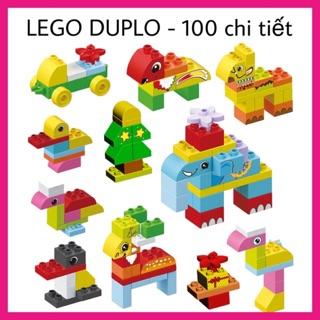 Lego Duplo 100 chi tiết – Đồ chơi trẻ em lắp ráp, xếp hình – Chủ đề Động Vật