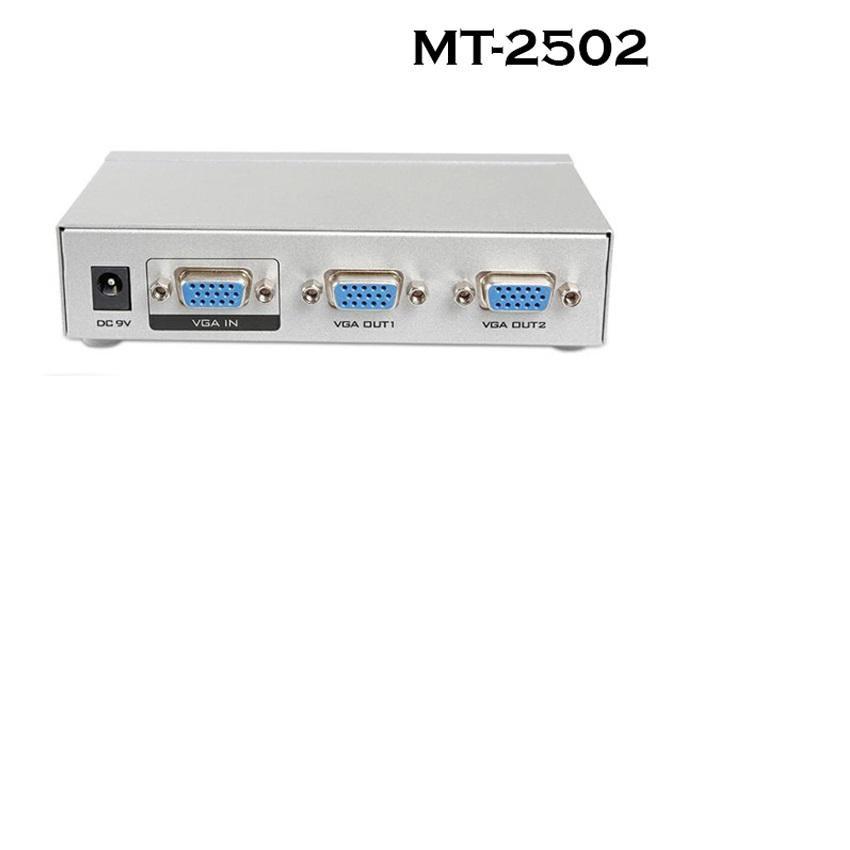 Bộ chia VGA 1 ra 2 màn hình Viki MT-2502 -DC1806 - 2670106 , 1318374616 , 322_1318374616 , 190000 , Bo-chia-VGA-1-ra-2-man-hinh-Viki-MT-2502-DC1806-322_1318374616 , shopee.vn , Bộ chia VGA 1 ra 2 màn hình Viki MT-2502 -DC1806
