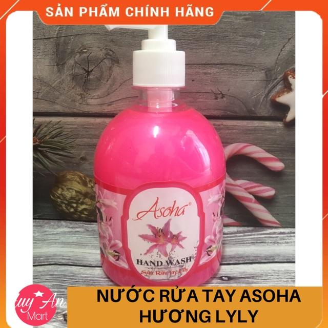 [FREESHIP 50k] Nước rửa tay cao cấp Asoha các vị 500ml sạch khuẩn 99,9% HÀNG VIỆT NAM