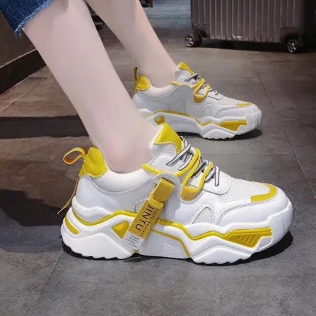 Giày nữ 😍Freeship đơn 50k😍 Giày thể thao nữ đế cao hàng nhập Quảng Châu siêu đẹp