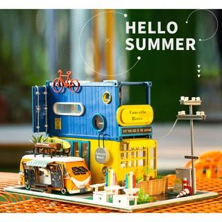 Mô hình nhà búp bê lắp ghép Hello Summer