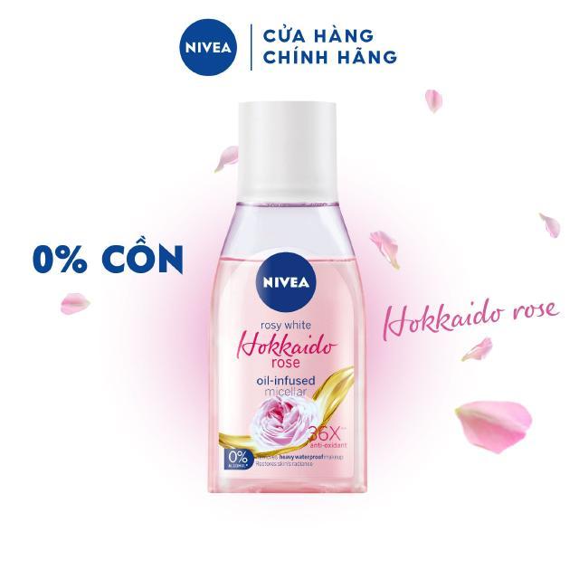 Nước tẩy trang NIVEA chiết xuất hoa hồng Hokkaido (125ml) – 84998