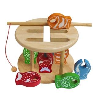 Trò chơi câu cá – Đồ chơi gỗ