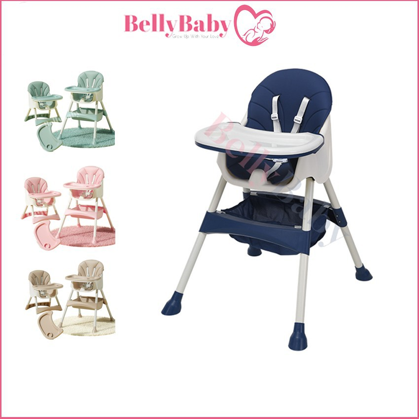 Ghế Ăn Dặm Belly Baby Hỗ Trợ Tập Ăn Cho...