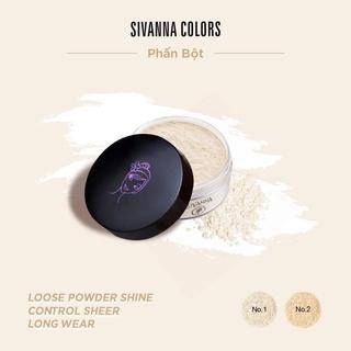 [Giá Sỉ] Phấn Phủ Bột Sivanna Loose Powder mịn lì tự nhiên, kiềm dầu nhanh chóng thumbnail