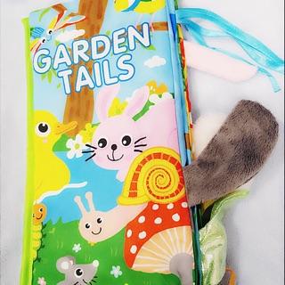 Đồ chơi sách vải tiếng Anh đoán đuôi con vật