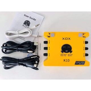 Bộ thu âm k10 kỷ niệm 10 năm hãng xox thành lập