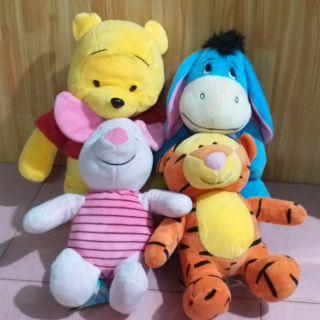 Gấu bông (set gấu pooh và những người bạn)