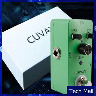 Delay Analog Classic Delay Echo Guitar Effect Pedal Zinc Alloy Shell True Bypass Guitar Stompbox
