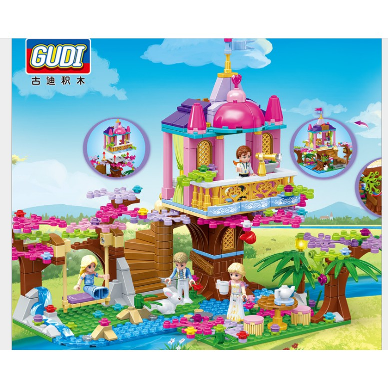 Lego khu vườn bí mật 498 chi tiết