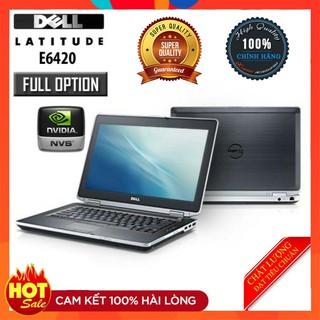 [Chính Hãng]Laptop Dell latitude E6420 Core i5 2520M Ram 4G ổ cứng HDD 250G or SSD 128G cực khỏe chơi game,VP,giải trí