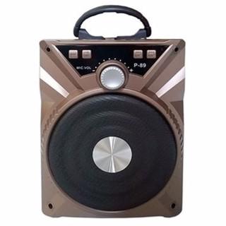 Loa Karaoke Bluetooth P89 88 - BH 6 tháng (Tặng micro có dây) thumbnail