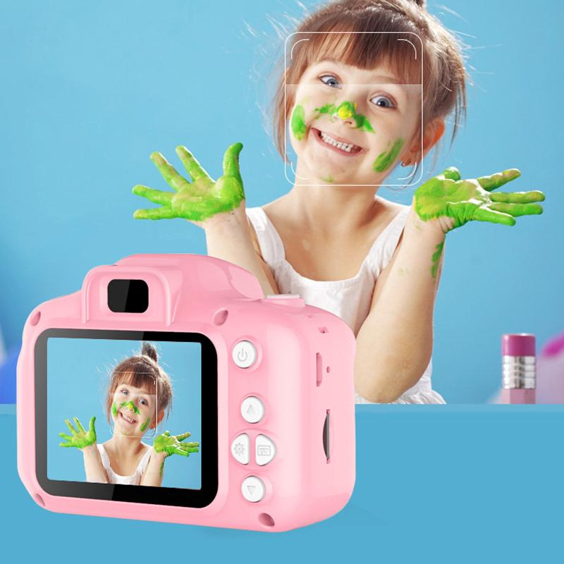 Kids Camera 2 Inch Mini Children Digital Camera For Baby small Toy Early Learning Birthday Gift Video Recording Toys