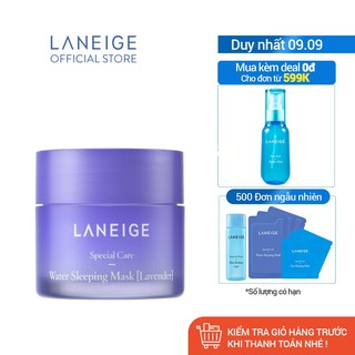 Mặt nạ ngủ dưỡng ẩm Laneige Water Sleeping Mask Lavender 25ml - Miniature