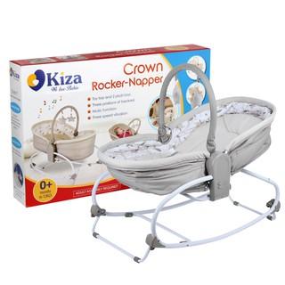 Ghế rung (Nôi rung) Kiza 3in1 Crown