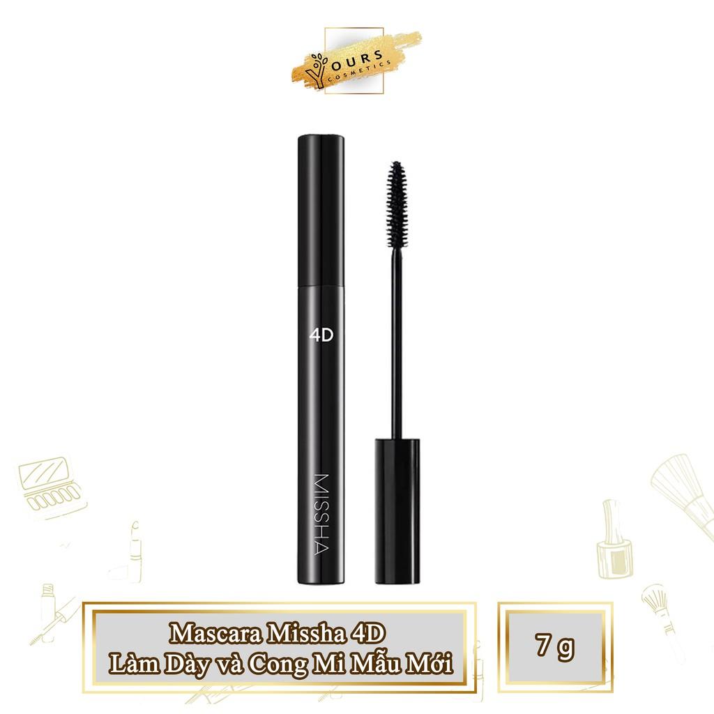 [Auth Hàn] Mascara Missha 4D Làm Dày và Cong Mi Mẫu Mới - Chuốt Mi Missha 4D mẫu mới