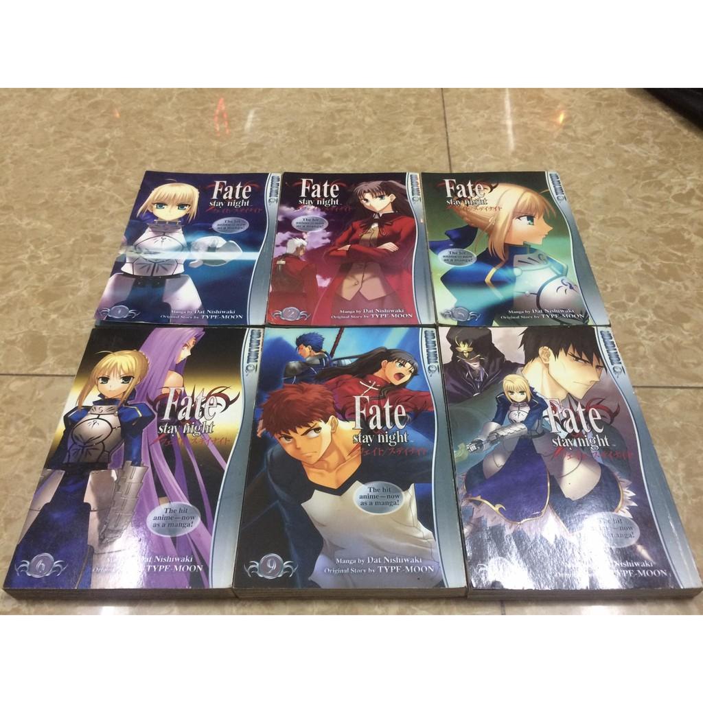 Truyện tranh Fate Stay Night, Sakura bản tiếng anh giảm chỉ còn 40,000 đ