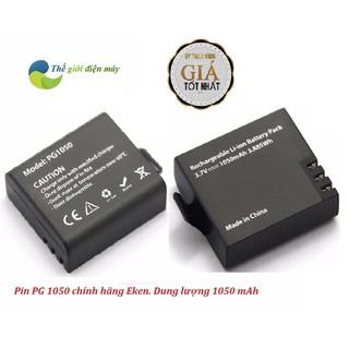 Pin 1050 mAh cho camera thể thao, camera hành trình SJCAM, eken, Soocoo, Amkov, camera 4k wifi thumbnail