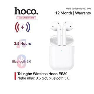 Tai nghe HOCO ES39, nghe nhạc liên tục trong 3.5 giờ, công nghệ Bluetooth 5.0, hỗ trợ sạc không dây đỗi định vị