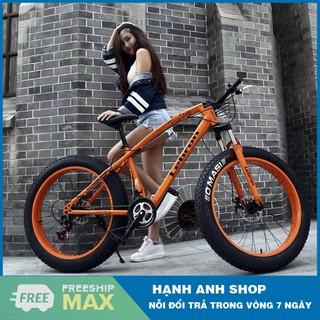 Xe đạp thể thao bánh béo LEBRON - Xe đạp leo núi - Nhập khẩu đài loan - Bảo hành 12 tháng thumbnail