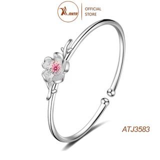 Vòng tay phối họa tiết hoa anh đào đính đá thời trang ANTA Jewelry - ATJ3583 thumbnail