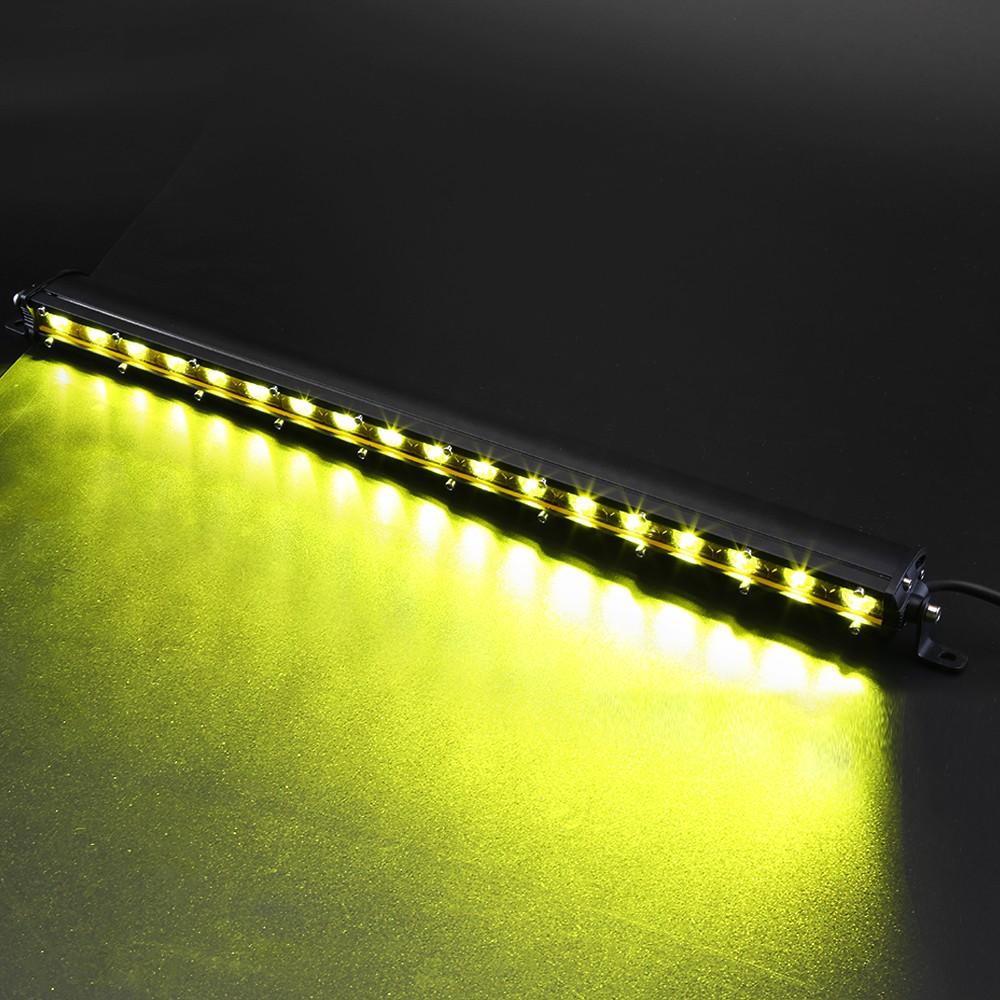 Đèn Led Light Bar Ô Tô 45W Ánh Sáng Vàng