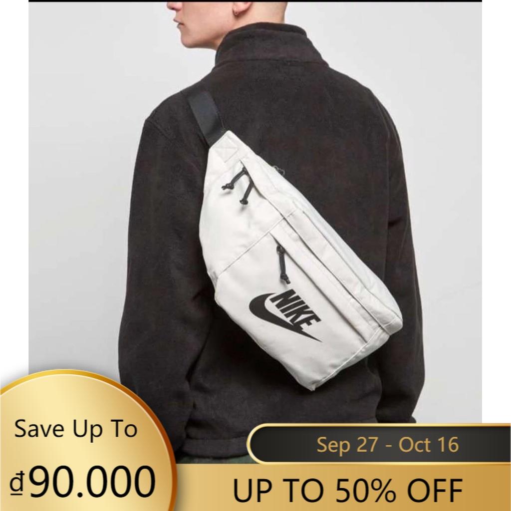 Túi đeo chéo hoạ tiết logo NIKE với sức chứa lớn tiện dụng OEM
