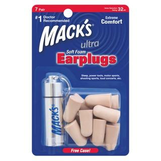 [Mã FAMALLT5 giảm 15% đơn từ 30k] Hộp 7 đôi nút bịt tai chống ồn Mack's Ultra Soft Foam dành cho ngủ ngon