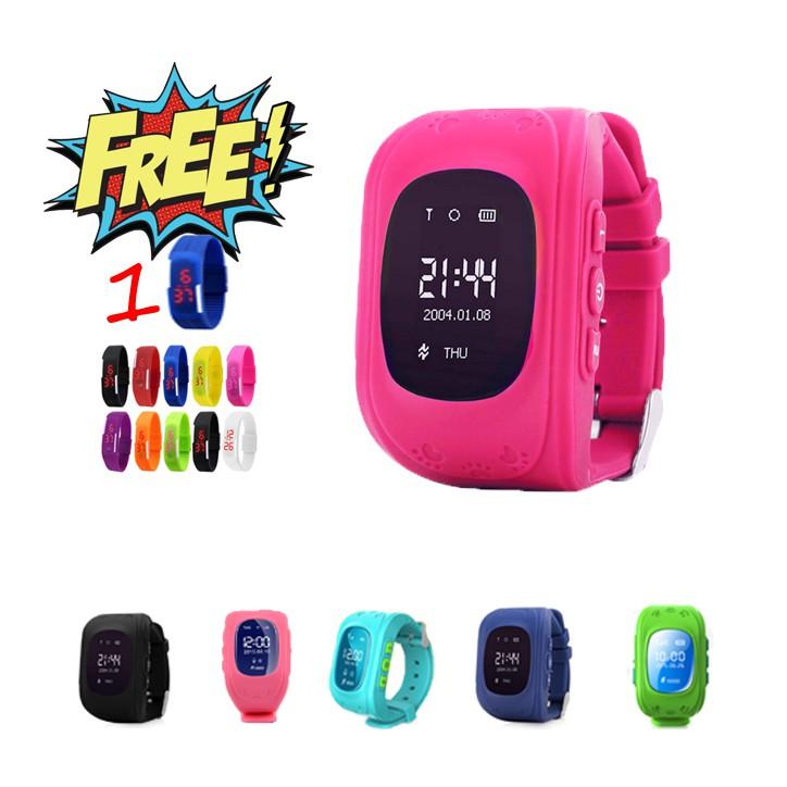 Đồng hồ thông minh đinh vị giám sát trẻ em tặng kèm đồng hồ sport led - 3596263 , 1034131844 , 322_1034131844 , 349000 , Dong-ho-thong-minh-dinh-vi-giam-sat-tre-em-tang-kem-dong-ho-sport-led-322_1034131844 , shopee.vn , Đồng hồ thông minh đinh vị giám sát trẻ em tặng kèm đồng hồ sport led