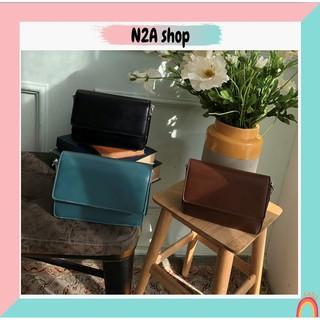 Túi xách nữ THANH LÝ[có sẵn] Túi da trơn basic 3 màu N2a shop