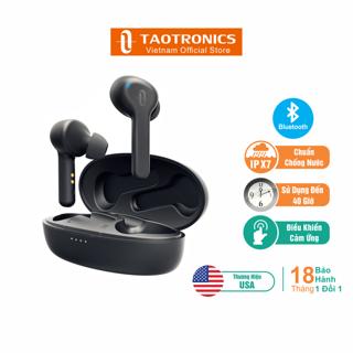 Tai Nghe TaoTronics Nhét Tai Bluetooth 5.0, Chống Ẩm, Hoạt Động 5 Giờ, Nhỏ Gọn TT-BH053 - Hàng Chính Hãng thumbnail