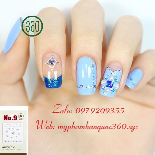 Sticker Tạo Kiểu, Trang Trí Móng - Innisfree Self nail sticker - jewel #9