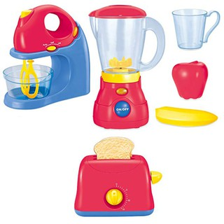 Children Simulation Home Appliance Set Toys juicer Mixer Bread Machine Kitchen
