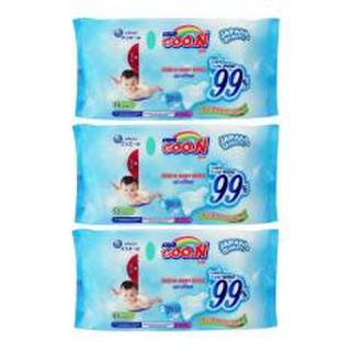 3 gói khăn ướt cao cấp cho bé Goo.n Thái lan thumbnail