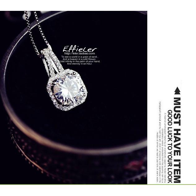 Dây chuyền bạc phong cách Hàn Quốc sale giá cực rẻ - 2643243 , 1109556979 , 322_1109556979 , 98000 , Day-chuyen-bac-phong-cach-Han-Quoc-sale-gia-cuc-re-322_1109556979 , shopee.vn , Dây chuyền bạc phong cách Hàn Quốc sale giá cực rẻ