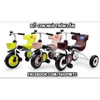 Xe đạp 3 bánh sang chảnh gấp gọn được cho các bé đã tự đi đã biết đi