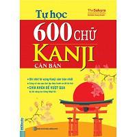 Tự Học 600 Chữ Kanji Căn Bản GIÁ BÌA 105.000VNĐ
