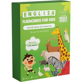 Bộ Thẻ Học Tiếng Anh chủ đề Động Vật Hoang dã- Flash card thumbnail