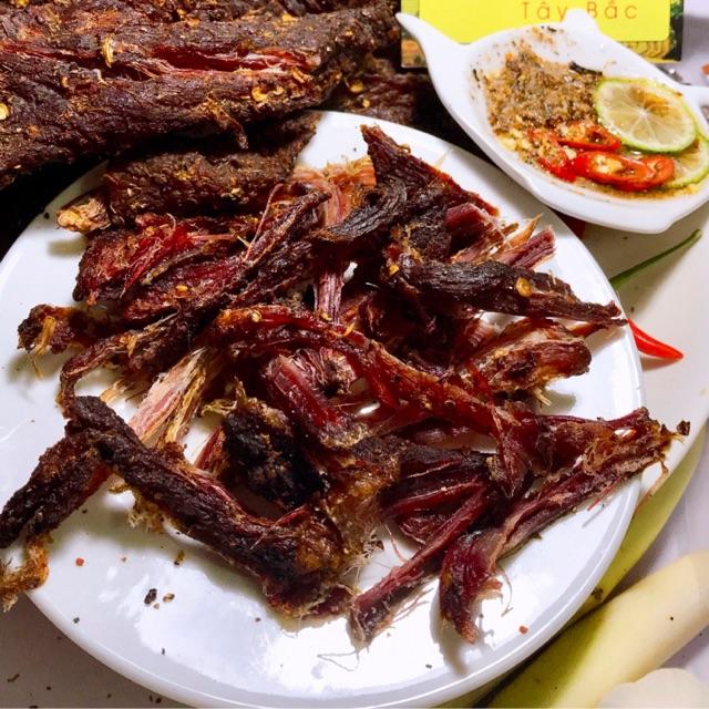 GÓI ĂN THỬ] Thịt Trâu Gác Bếp Tây Bắc Chính Hiệu 125gr tặng kèm ...