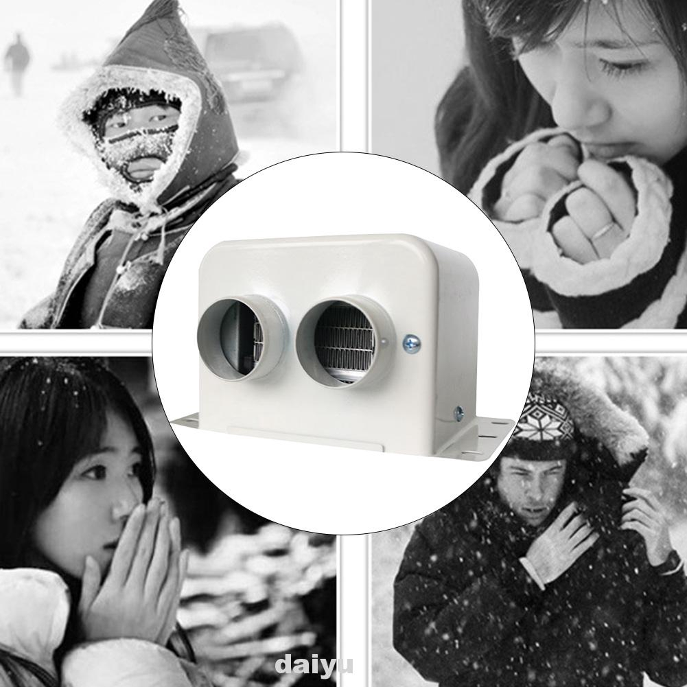 Stainless Steel Low Noise Electric Winter Warm 500W 800W 12V 24V Car Heater