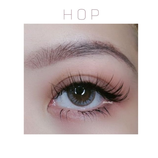 [ FOLLOW NGAY ] Kính áp tròng siêu hot – Hop Gray Lens