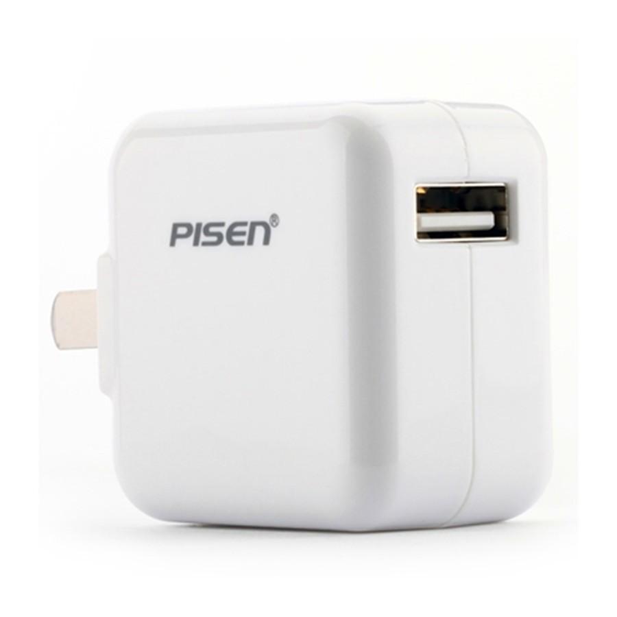 Củ cốc sạc iPad Mini 1/ 2/ 3/ 4 Pisen 5V- 2A