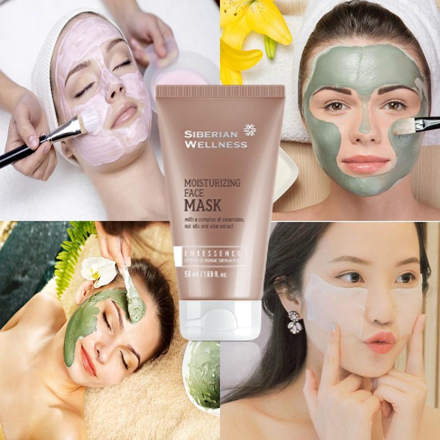 Mặt nạ dưỡng ẩm SIBERIAN WELLNESS MOISTURIZING FACE MASK - Mỹ phẩm Siberian Health