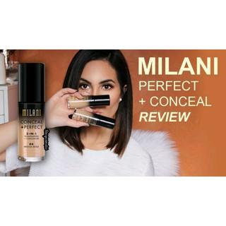 Kem nền Milani Concealer + Perfect 2 in 1(30ml)