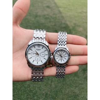 Đồng hồ thời trang nam nữ Rosra bạc MS0010