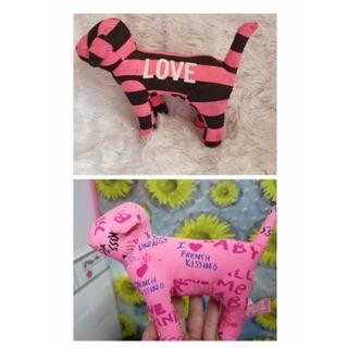 Gấu bông chó Pink kiện Mỹ