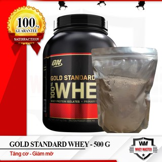 [Sample Dùng Thử] Sữa tăng cơ bắp ON Gold Stard 100% Whey 500gram
