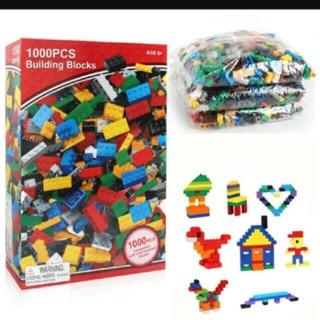 Bộ lego xếp hình 1000 miếng các chi tiết