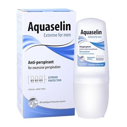 ✅ [CHÍNH HÃNG] Lăn khử mùi dành cho nam đổ mồ hôi nhiều đến vừa - Aquaselin Extreme for men